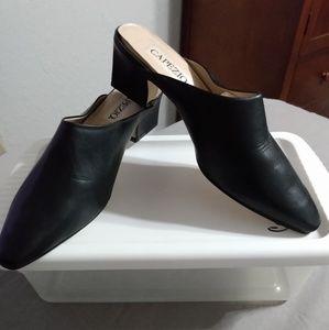 Capezio mule shoe